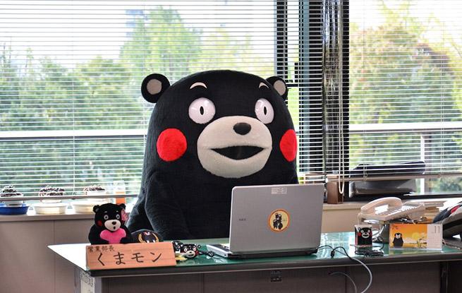 日本吉祥物熊本熊被写进《漫画伟人传》 与织田信长比肩