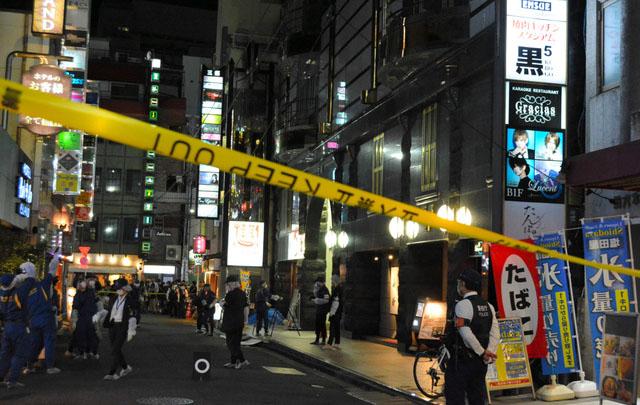 东京歌舞伎町繁华街道发生自杀案件