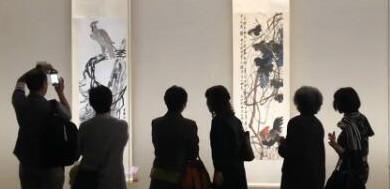 """""""中国近代绘画巨匠—齐白石""""展走进日本"""