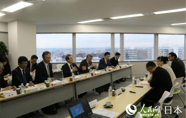 中国驻日大使程永华赴海信日本公司考察