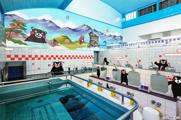 东京下町推出熊本县主题澡堂宣传熊本魅力