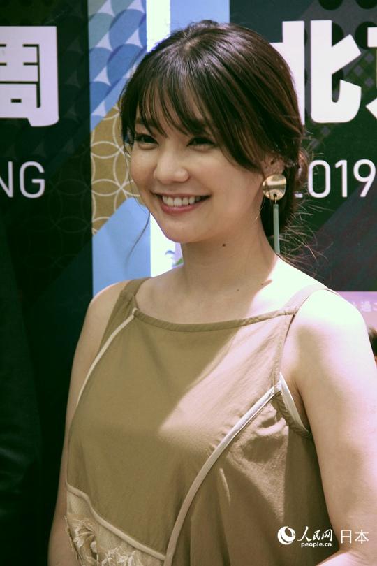 日本女演员仓科加奈首次来华美食中万达食公延吉路国美爱上图片