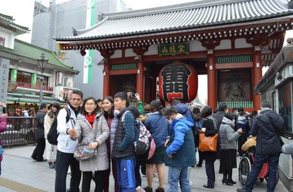 8月访日韩国游客人数同比减少了30.87万人 减幅高达48.0%
