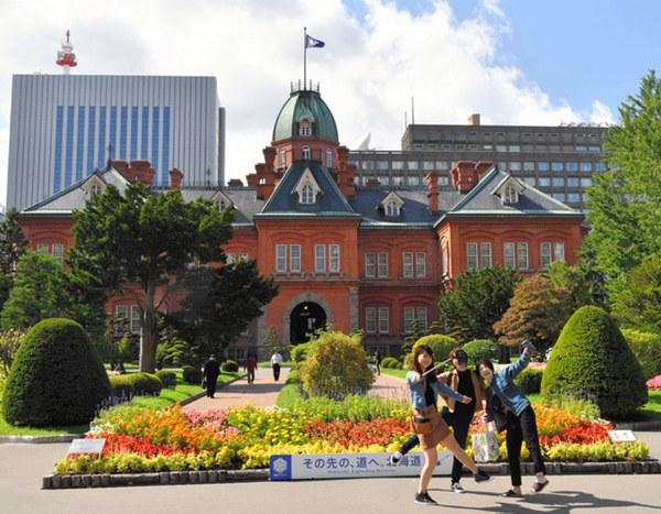 北海道红砖旧厅舍(图片来源:朝日新闻网站)