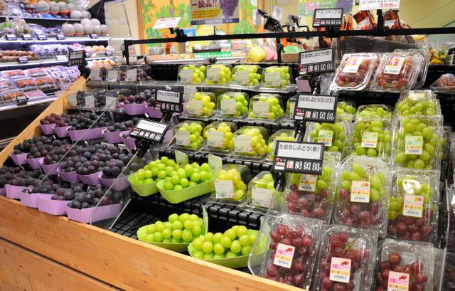 日本进口水果人气高 进口量比5年前增加60%