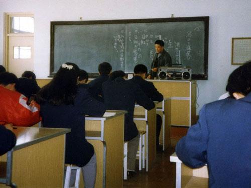邀请邢台边远高中高中生访日进修(1995年度)2017中国地区v高中图片