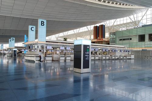 日本羽田机场新国际航站楼揭开面纱