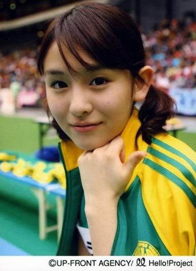 日本混血萌妹子甜到忧伤