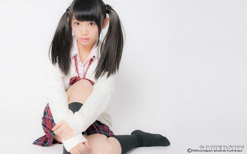 喜歡雙馬尾少女賣萌,日本人執念可愛情結的體現?  (8)