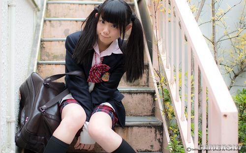 喜歡雙馬尾少女賣萌,日本人執念可愛情結的體現?  (6)