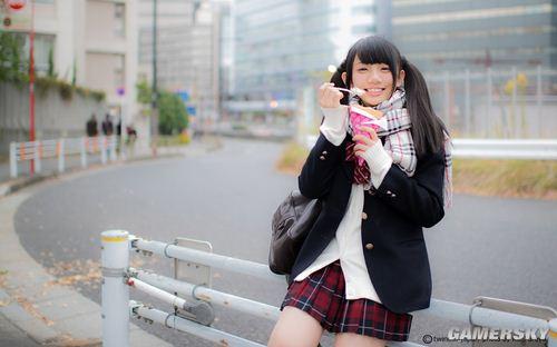 喜歡雙馬尾少女賣萌,日本人執念可愛情結的體現?  (2)