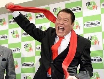 日本前著名职业摔跤选手安东尼奥·猪木(原名:猪木