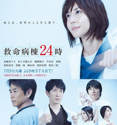 松岛菜菜子新剧《救命病栋5》首播收视17.7%